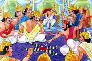 Mahabharata's famous dice game