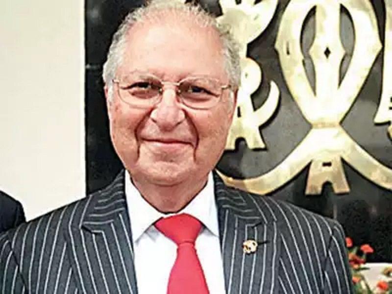 RWITC Chairman Zavaray Poonawalla