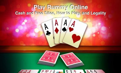 Play Rummy Online - sites, legality and how to play